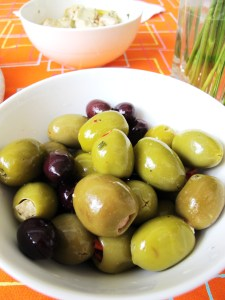 I love almond stuffed olives the most