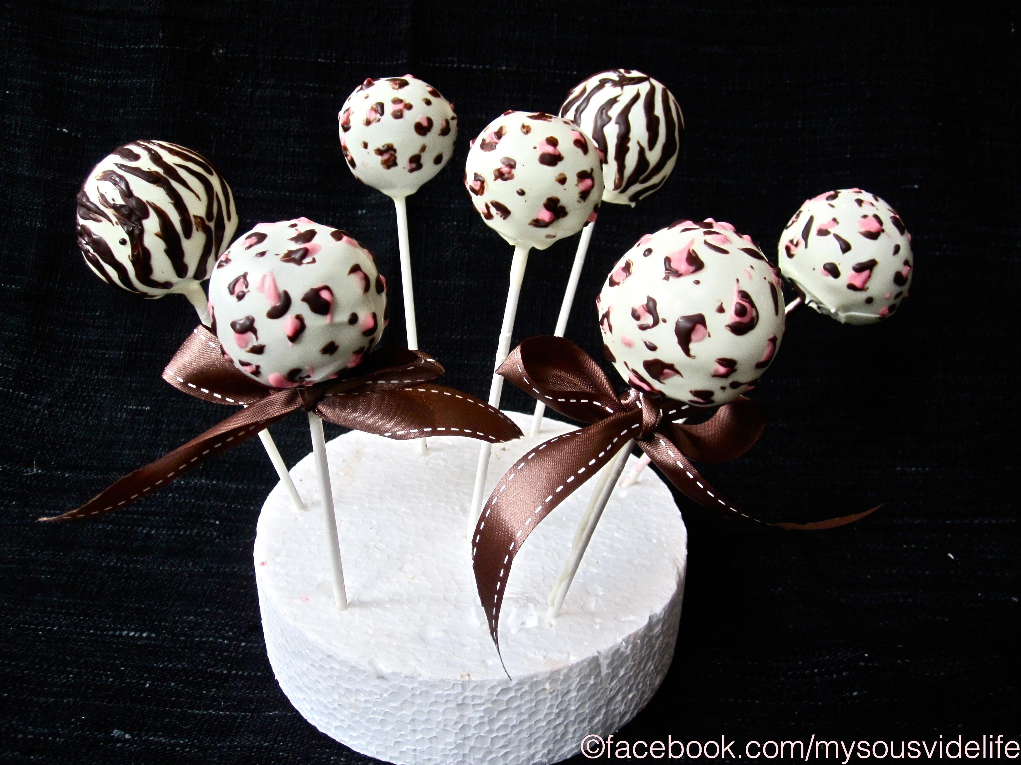 Leopard Print Cake Pops Recipe